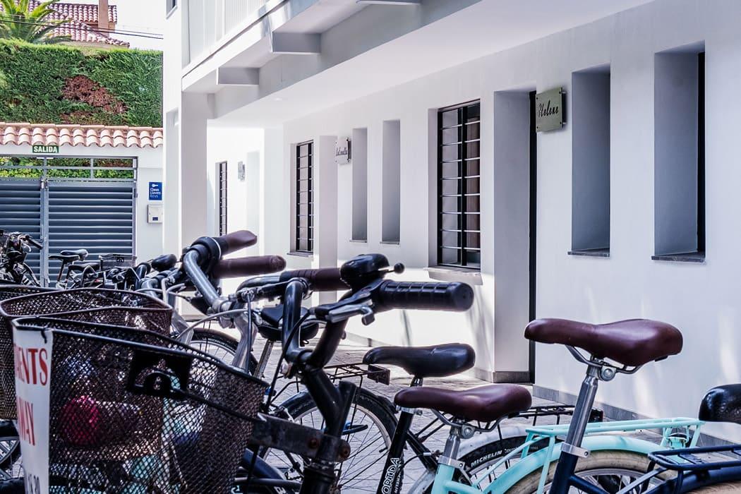 Apartamentos Apollo Sitges bicicletas gratuitas