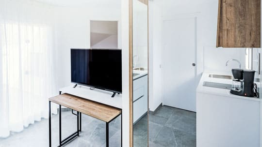 Studio for 2 persons
