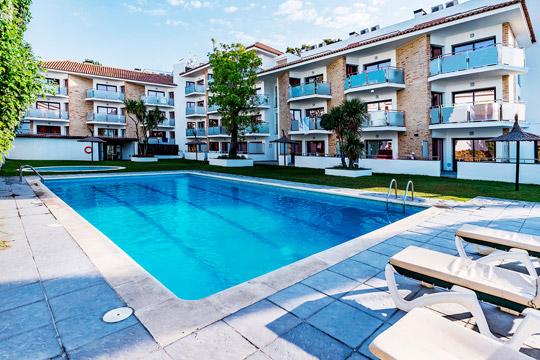 Piscinas Apartamentos Sunway Amapola